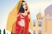 Hindistanlı Kız Giydirme Oyunu