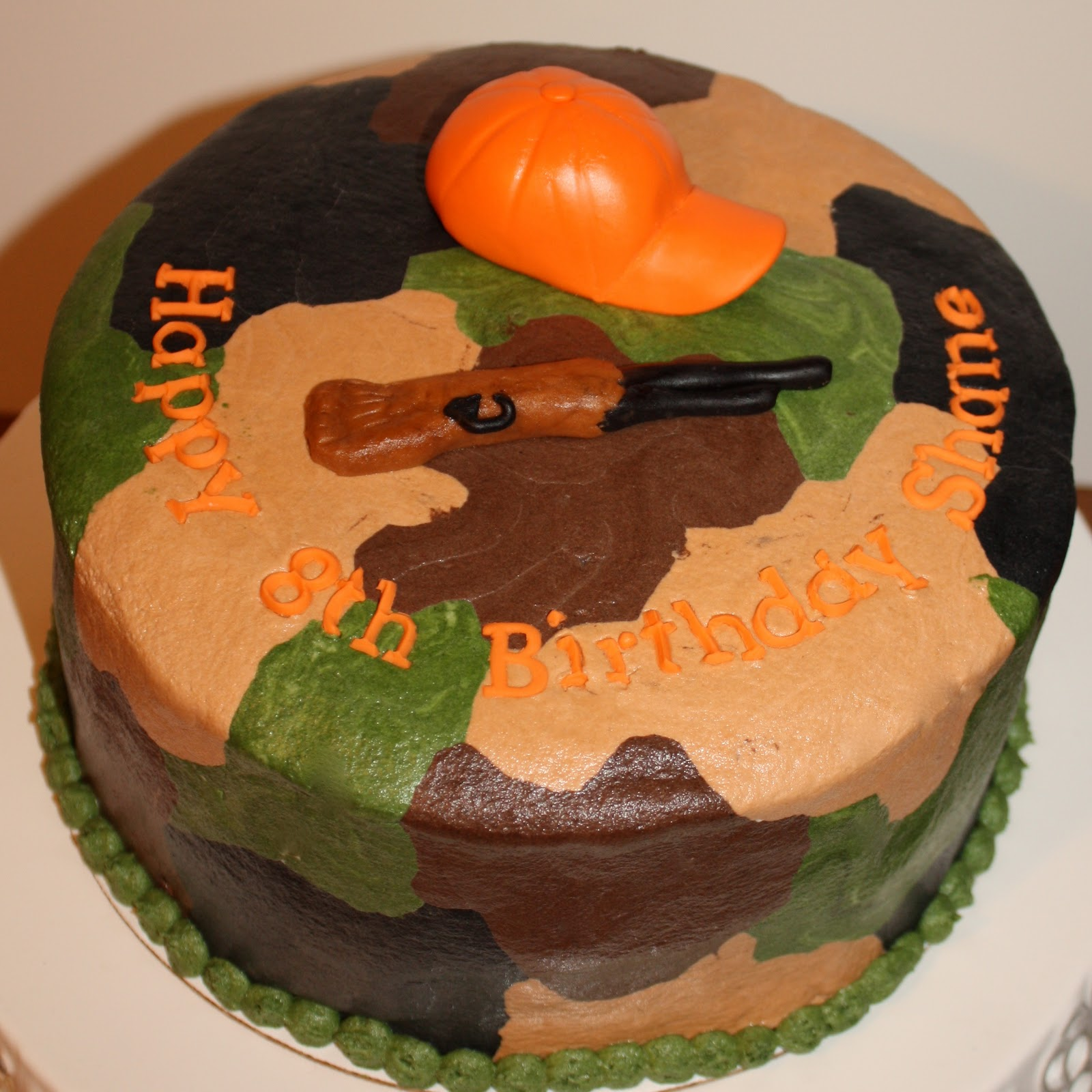 Kake Camouflage Cake Take Two