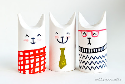 15 #DIY con tubos de papel que te inspirarán