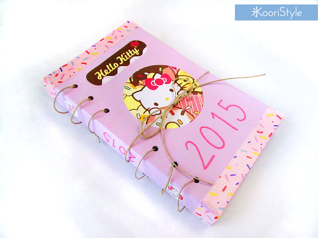 Handmade, Crafts, Kawaii, Cute, Paper, Koori Style, KooriStyle, Koori, Style, Planner, Planning, Stationery, Deco, Decoration, Time Planner, Kikki K, Filofax, Washi, Deco, Tape, Journal, Agenda, Stickers, Medium, Live Bright, Ring Planner, How to, Organization, Inserts, Keep, Organize