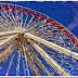 6 public domain paintings of a ferris wheel