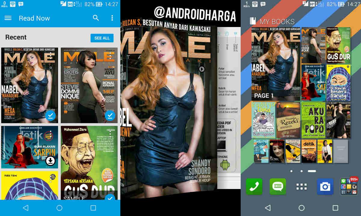 Cara Unggah Majalah di Google Play Books untuk Dibaca Online di ASUS Zenfone