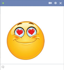 Facebook Romantic Smiley
