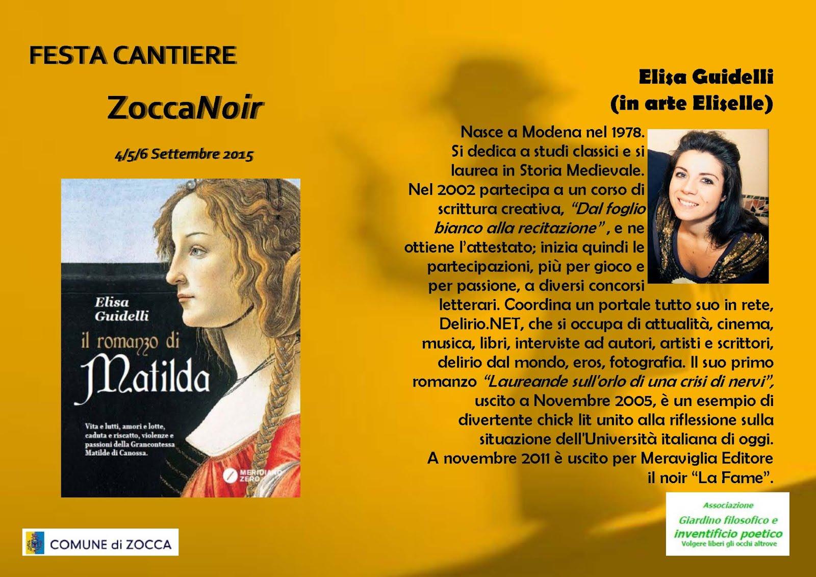 Biografia Elisa Guidelli