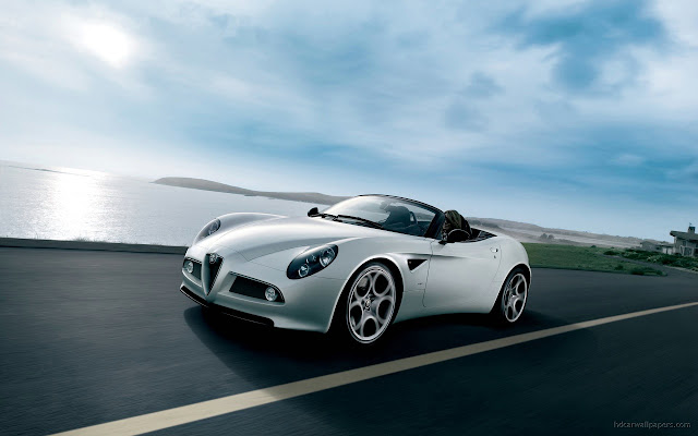 Alfa 8c Spider 3 Wallpapers