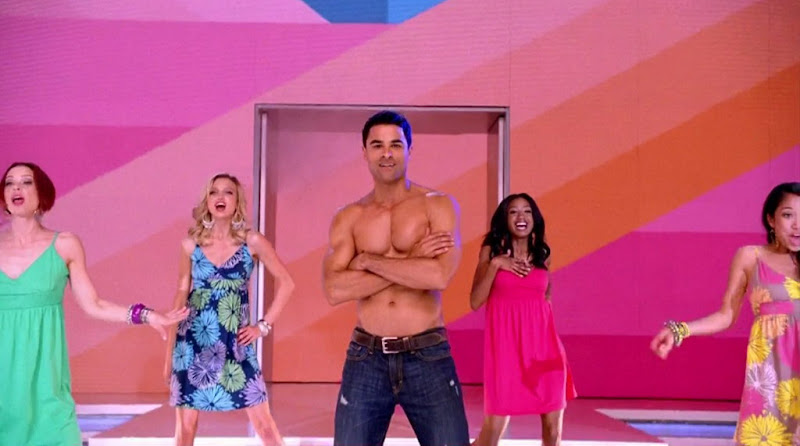 Steven Beck Shirtless in Old Navy Commercial March 2011