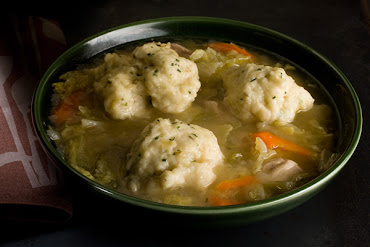 As for those grapefruit and buttermilk diets, I'll take roast chicken and dumplings.