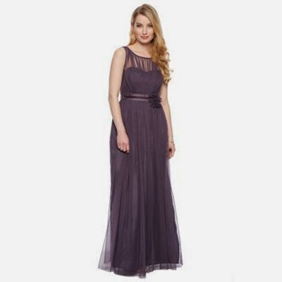 Purple Debenhams Maxi Dress - Affordable Purple Wedding Dresses
