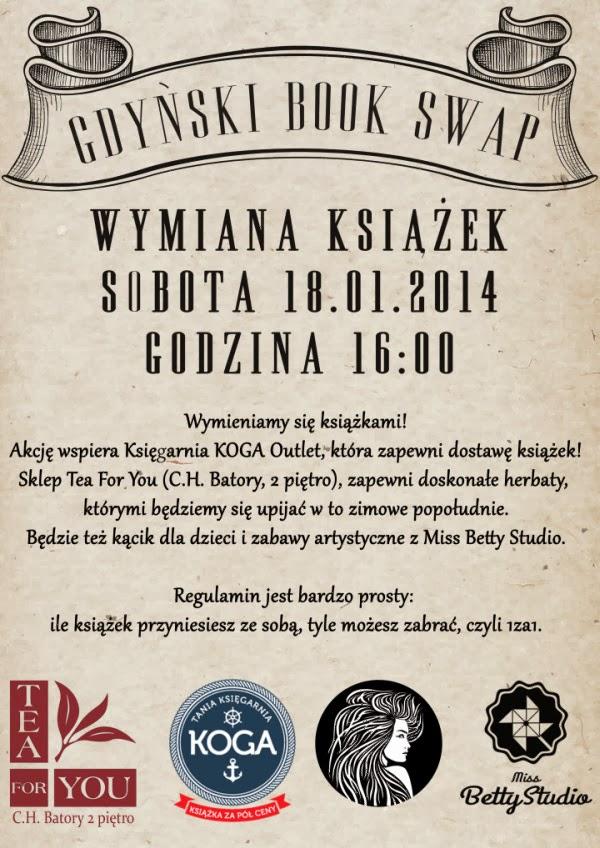 book swap w Gdyni 16 styczeń 2014 obsessive studio