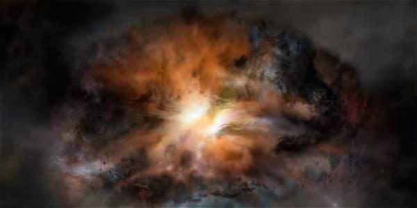 La galaxia más luminosa del Universo
