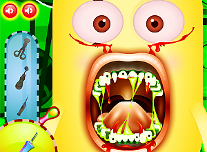 Minion Vampire Dentist
