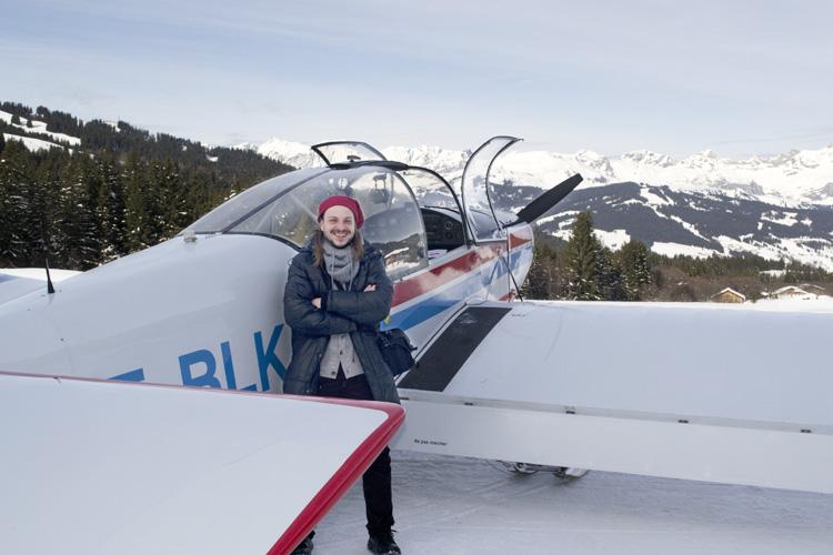 avioneta Rhône Alpes, en el corazón de Europa