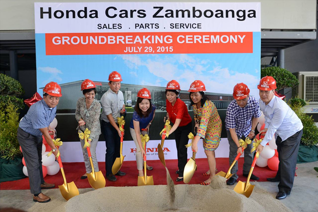 Honda Cars Zamboanga Groundbreaking Ceremony