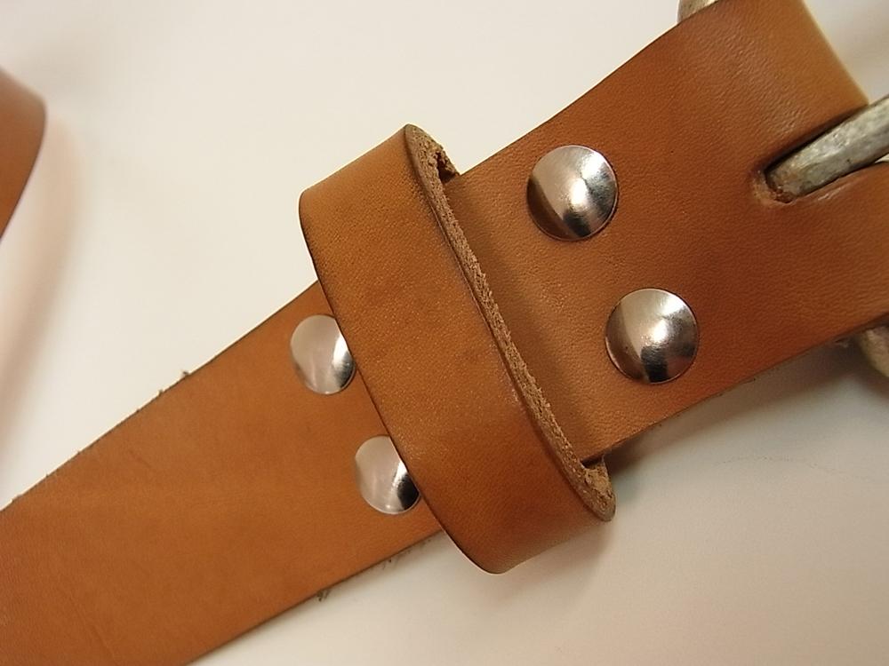 Kenton Sorenson Leather 10oz Roll Buckle Belt