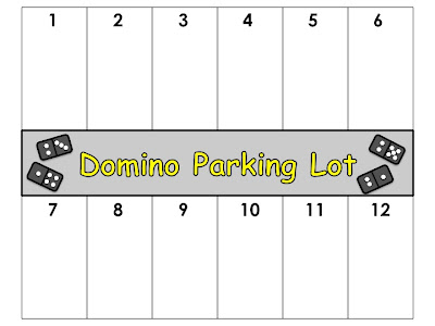 domino parking lot mat version 1 students place dominos in parking ...