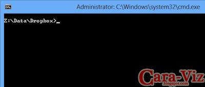 Cara Mudah Menjalankan Command Prompt As Administrator Pada Setiap Folder di Windows 8