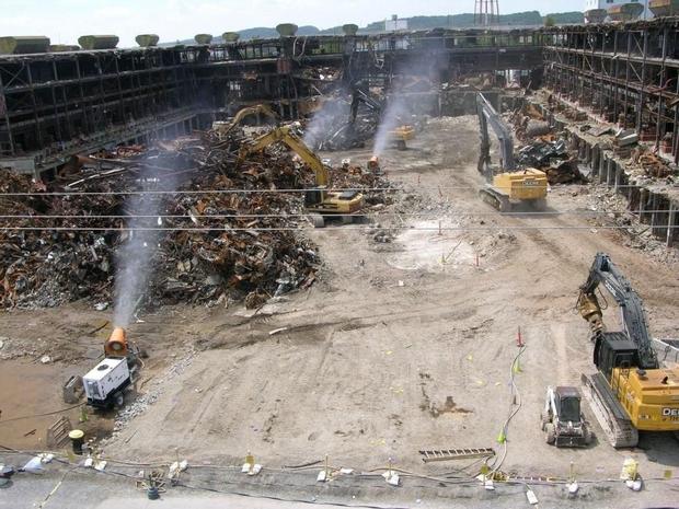 Oak Ridge Water Tower Demolition : Evelyn excess september