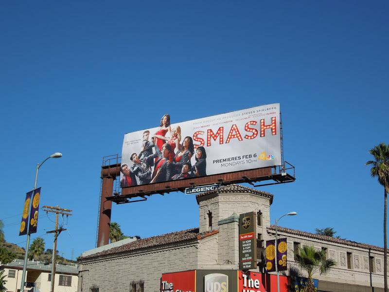 Smash series 1 TV billboard