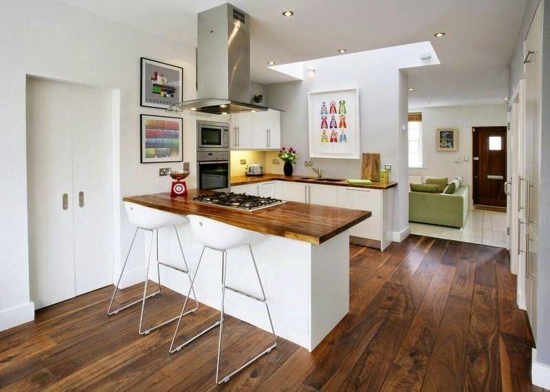 decoracion cocinas modernas pequeas - Cocinas Modernas Pequeas