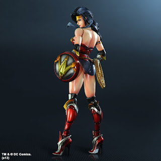 "Square Enix Play Arts Kai DC Comics ""Variant"" Wonder Woman Figure"