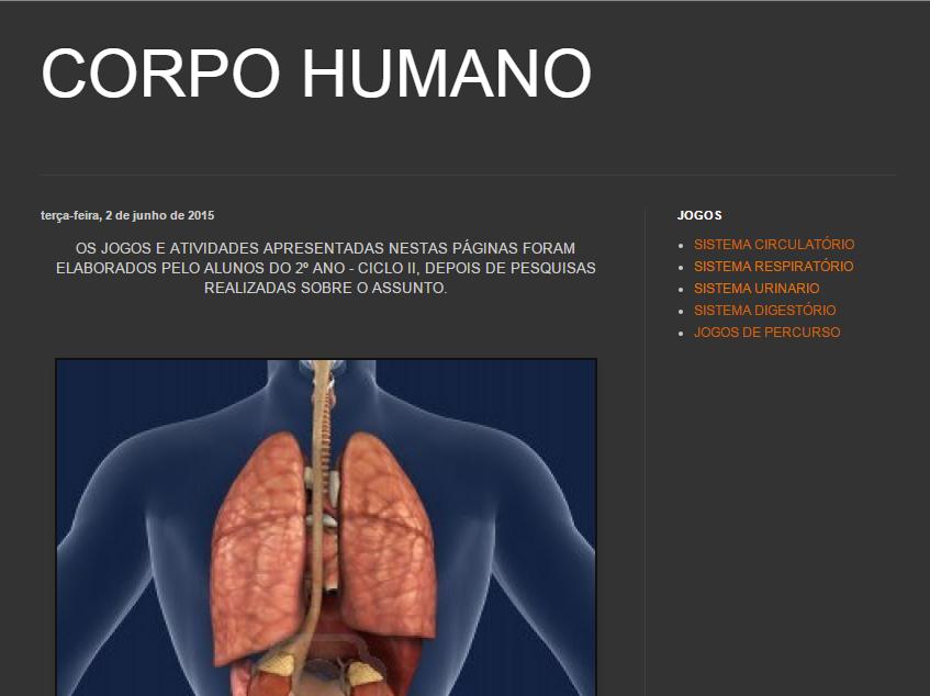 JOGOS DO CORPO HUMANO