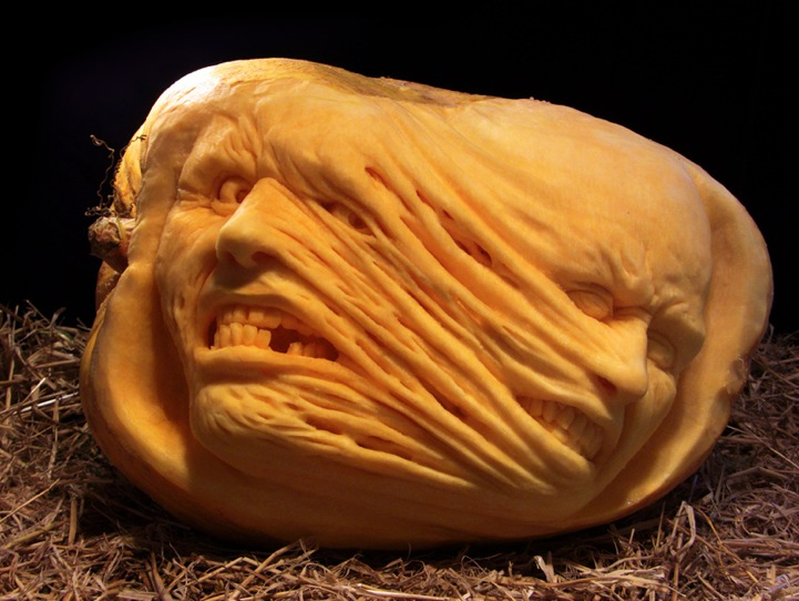 Fresh pics scary halloween pumpkin carvings by ray villafane