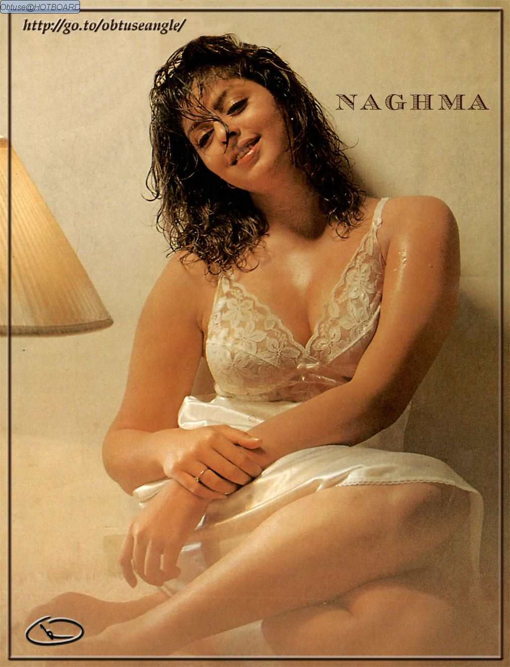 Nagma S Perky Tits In Transparent Lacy Bra