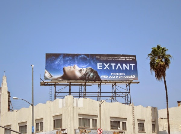 Extant series launch billboard
