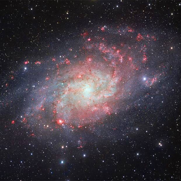 Spiral Galaxy M33 - The Triangulum Galaxy