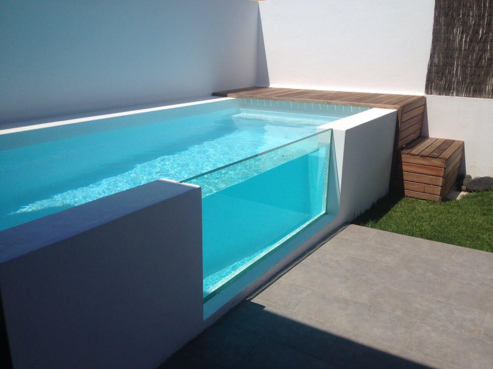 Ideas robadas y otras no piscinas para espacios peque os for Piscinas de plastico para jardin