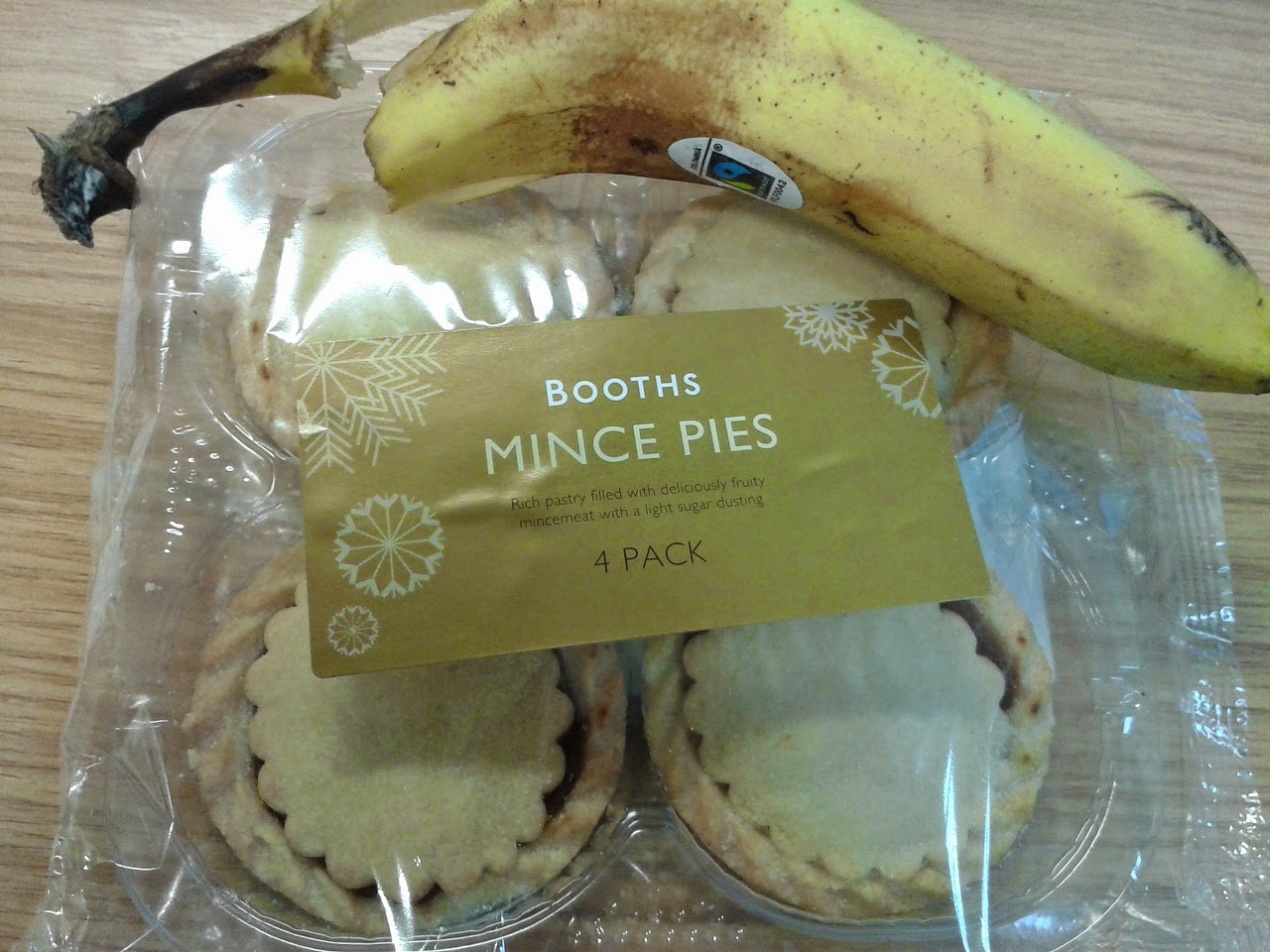 Booths Mince Pie Review
