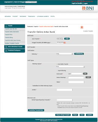 bni internet banking baru