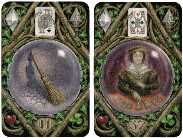 Enchanted Lenormand, Broom, Diviner