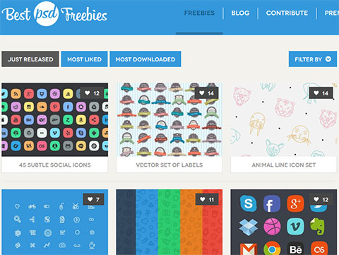 Best psd freebies site