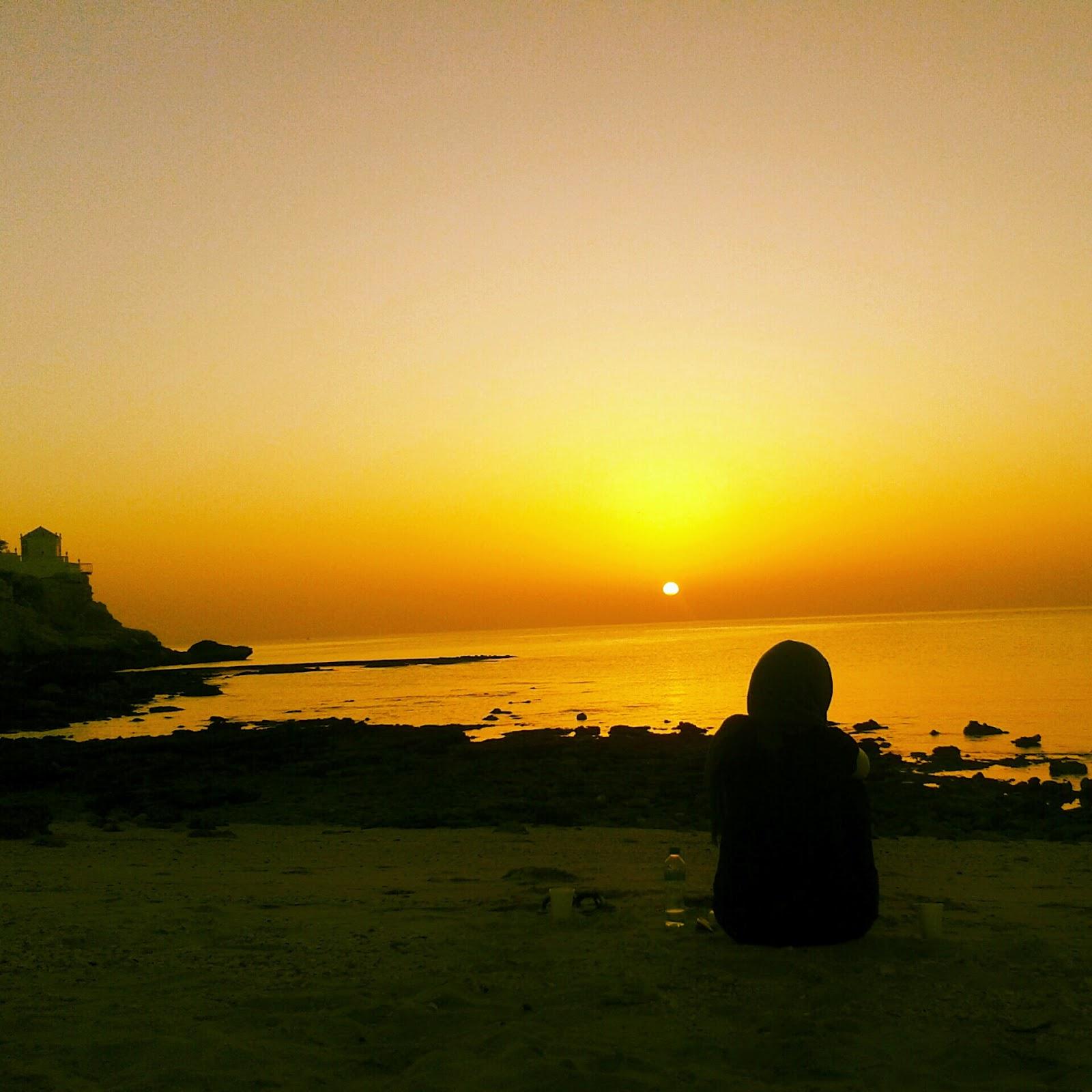 puesta sol muscat