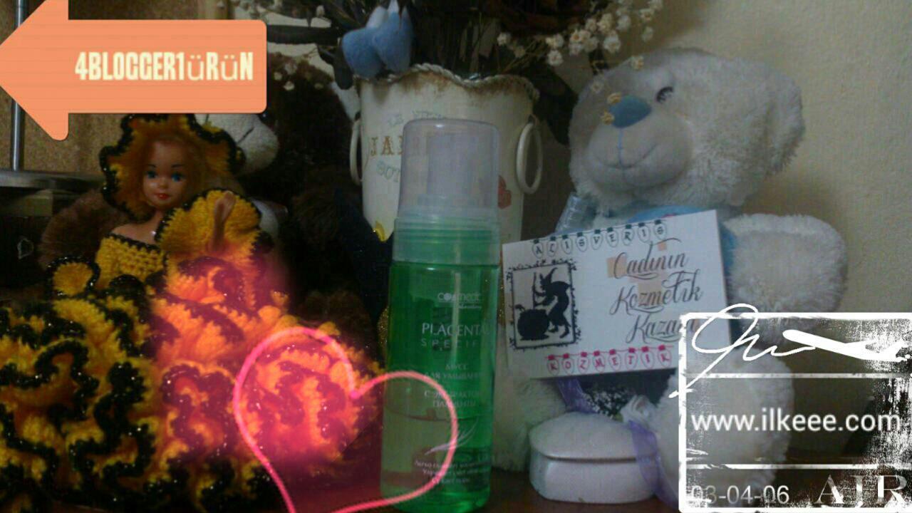 sm kozmetik - Cosmedic Laboratory - Plasenta Özlü Yüz Temizleme Köpüğü kullananlar - Plasenta Kozmetik - 4 blogger 1 ürün