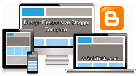 Make or Design Responsive Blogger Template