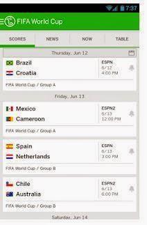 espn fc - aplikasi android untuk update berita piala dunia