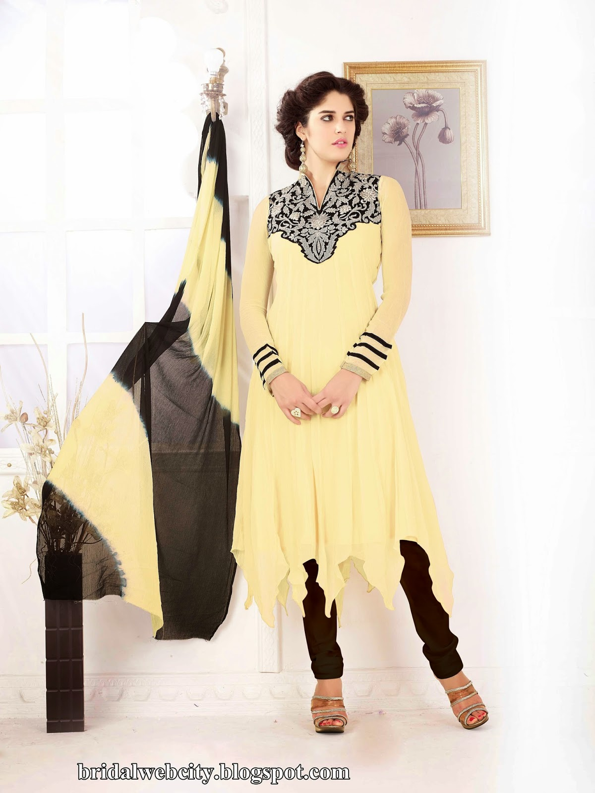 Latest Bridal Casual Dresses 2014 For Women