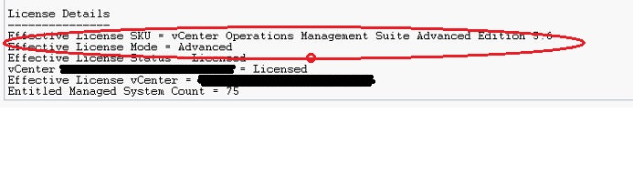 vrealize operations manager product license key