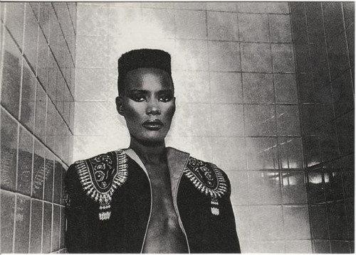 grace jones  hiTopFade el afro de los 90