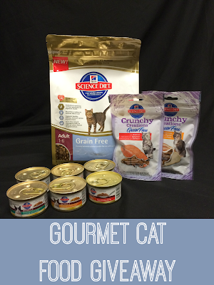 Gourmet Cat Food Giveaway