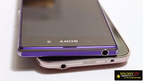 So sánh chi tiết Samsung Galaxy S5 Au và Sony Xperia Z1.