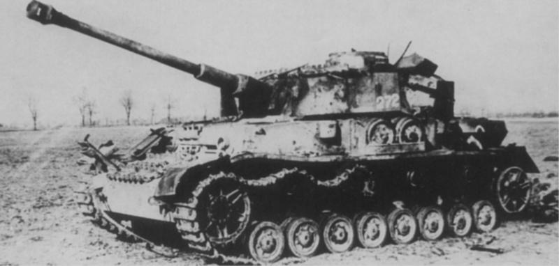 Немецкий средний танк pz kpfw iv