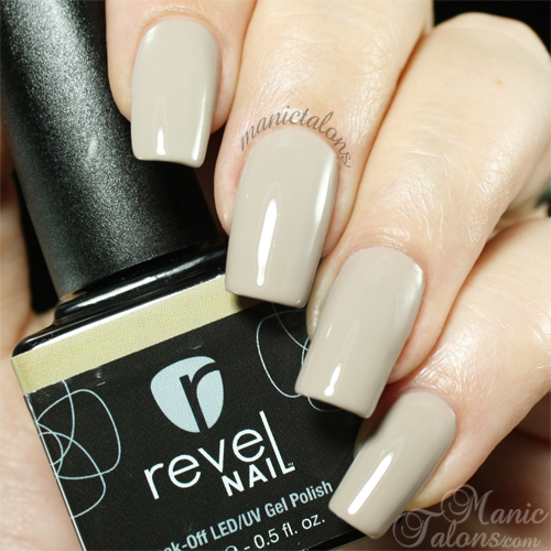 Revel Nail Gel Polish Fawn Swatch