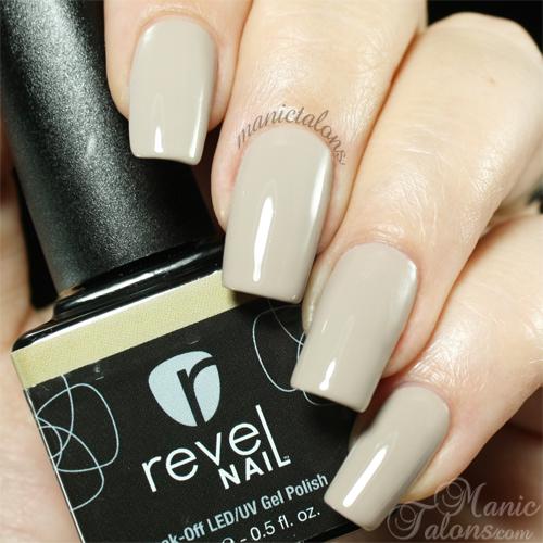 Revel Nail Gel Polish Fawn swatch