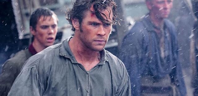 Chris Hemsworth é destaque em novo trailer de No Coração do Mar, novo filme de Ron Howard