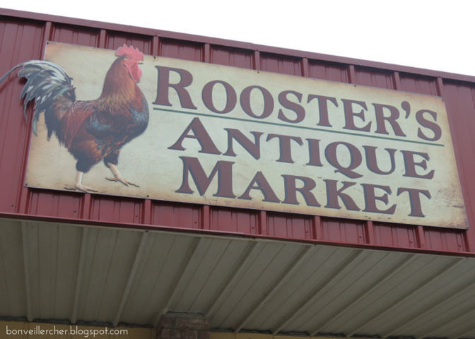 Bon veiller, cher: Following the Louisiana Antique Trail - Rooster's Antique Market in Lafayette. | bonveillercher.blogspot.com