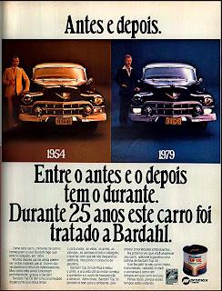 propaganda Bardahl - 1979. propaganda anos 70. propaganda carros anos 70. reclame anos 70. Oswaldo Hernandez.