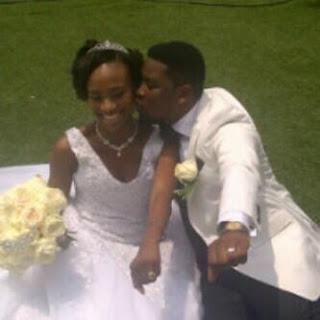 dotun ojuolape dbanj sister white wedding